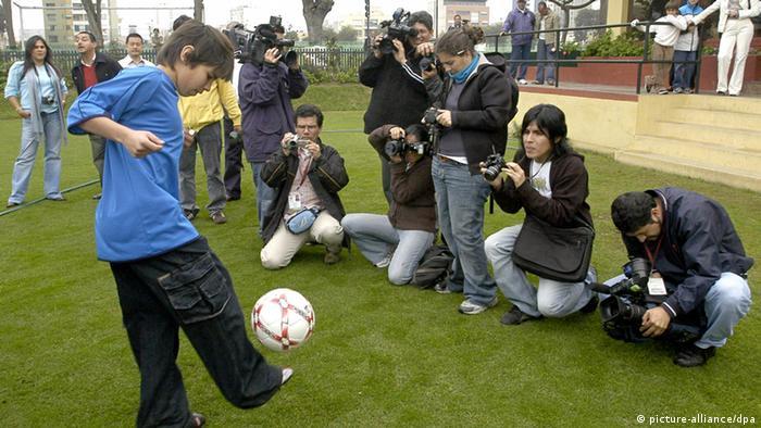 Cuando apenas tenía 13 años, Pierantonio Larrauri llegó al Bayern catalogado como el Messi peruano.