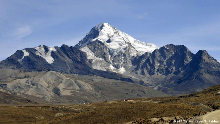 Berg Huayna Potosi in Bolivien (AFP/Getty Images/A. Raldes)