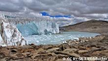 Quelccaya-Eiskappe in Peru