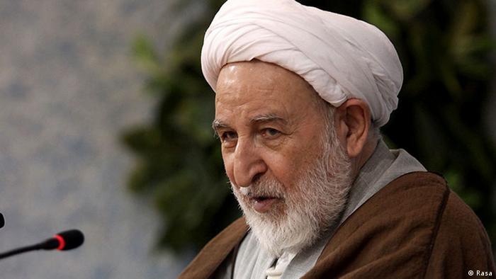 آیتالله محمد یزدی، رئیس جامعه مدرسین حوزه علمیه قم و عضو شورای نگهبان