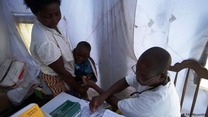 As cheias na Zambézia aumentaram o número de casos de malária, cólera e doenças respiratórias