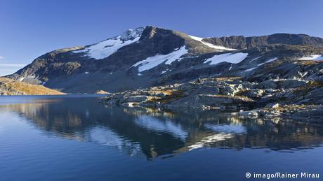 Stausee Norwegen Jotunheimen Nationalpark (imago/Rainer Mirau)