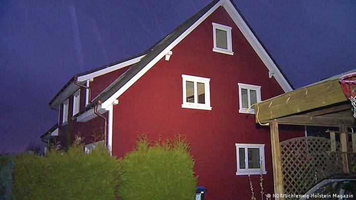 Asylbewerberheim in Escheburg, das Ziel eines Brandanschlags wurde (Foto: NDR/Schleswig-Holstein Magazin)