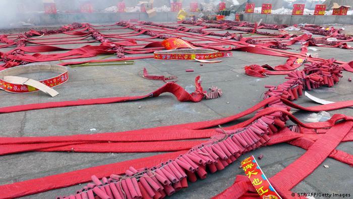 China-Böller in Shenyang, China