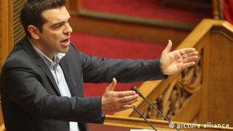 Tsipras Alexis Griechenland Parlament Athen Ministerpräsident Syriza