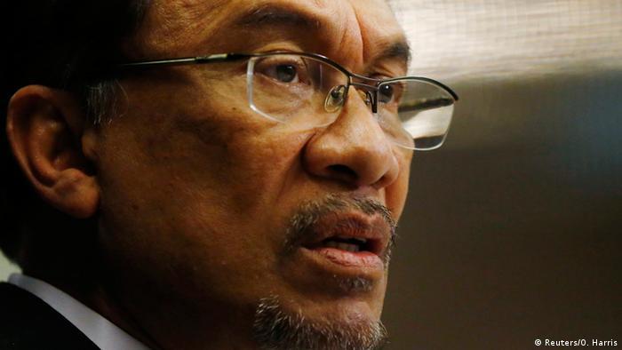 Malaysia Anführer der Opposition Anwar Ibrahim