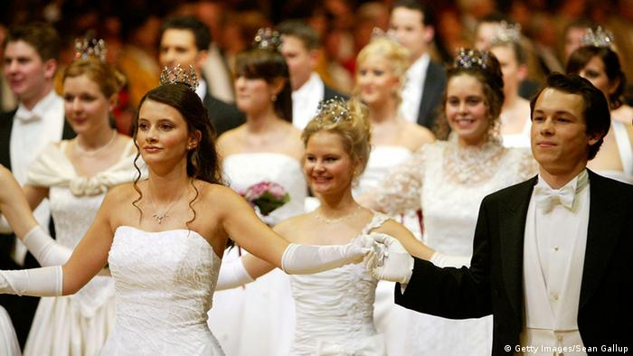 Debutantes pictured at the ball