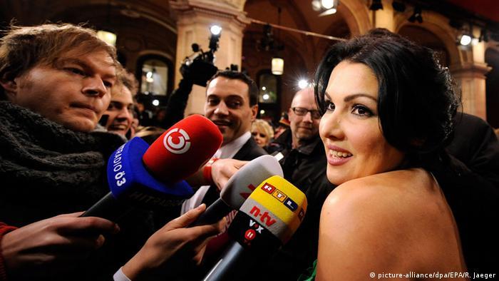 Анна Нетребко в Вене, 2011 год