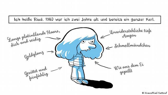Comic 'Der Araber von morgen' von Riad Sattouf (Knaus)