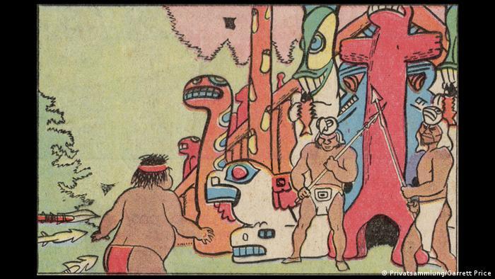 Bildergalerie Ausstellung Going West!, Garrett Price (1896–1979): White Boy (1933–1936), Sonntagsseite vom 26. August 1934