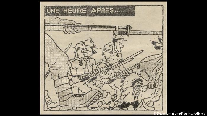 Bildergalerie Ausstellung Going West!, Hergé: Tintin et Milou en Amérique, 1932