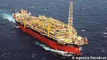 Brasilien Gefäß-Plattform von Petrobras