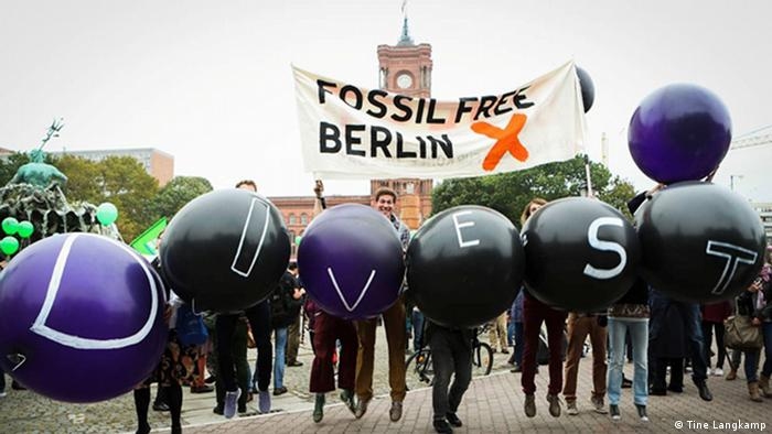 Fossil Free Berlin Demonstration