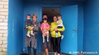 Беженцы из Донбасса в Брестской области
