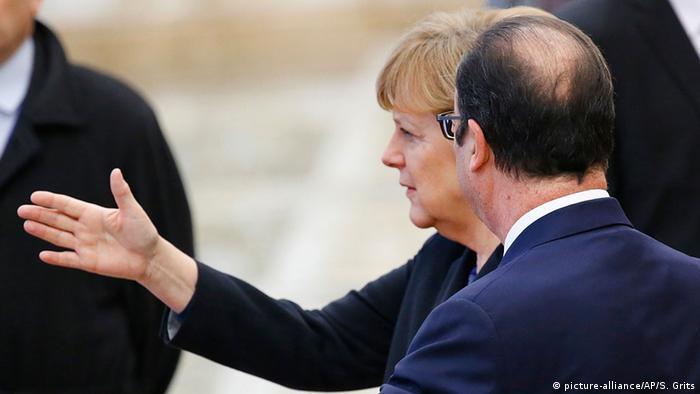 Закиди на адресу Меркель та Олланда пролунали за кілька днів до їхньої зустрічі з Порошенком у Берліні