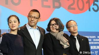 "Berlinale PK ""Gone with the Bullets Jiang Wen"