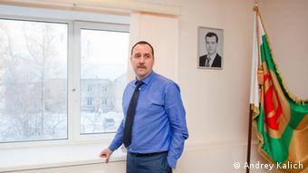 Глава городской администрации Пикалева Дмитрий Николаев