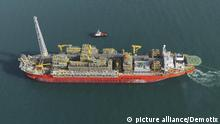 ARCHIVBILD 6th January 2009 -- File Image: The file picture of the Floating Production Storage and Offloading (FPSO) unit Cidade de Sao Mateus. The unit suffered a powerful explosion inside the platform killing 5 people and injuring 10 more. Picture courtesy of BW Offshore -- According to BW Offshore a powerful explosion ripped through the Floating Production Storage and Offloading (FPSO) unit Cidade de Sao Mateus off the coast of the state of Espirito Santo in Brazil killing five people out of the 74 persons onboard.