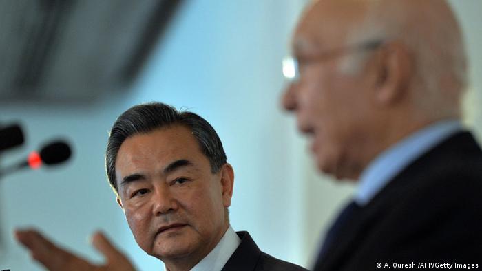 China Außenminister Wang Yi in Pakistan