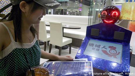 Bildergalerie Roboterrestaurant in China