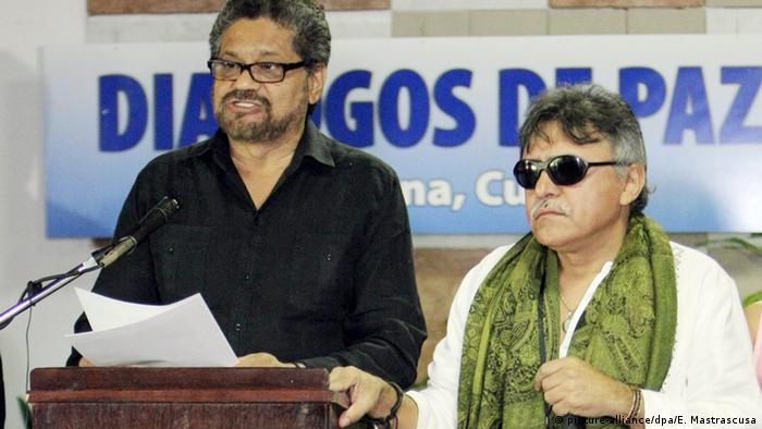 Luciano Marin und Paucias Hernandez Solarte