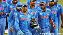 World Cup Cricket 2015 Indien MS Dhoni