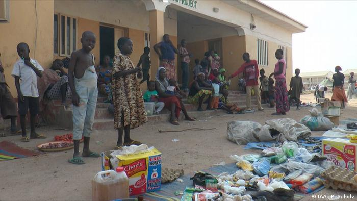 Malkoi refugee camp in Nigeria