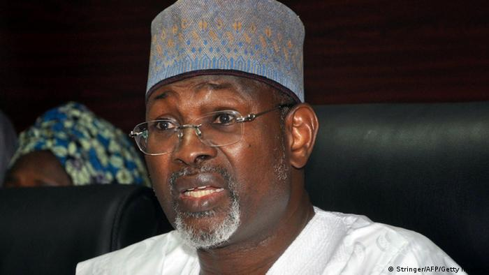 Attahiru Jega, head of INEC
