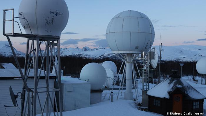 KSat Satellitenstation in Norwegen