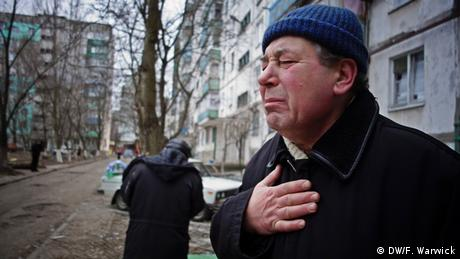 Ukrainian lamenting (Photo: Filip Warwick)