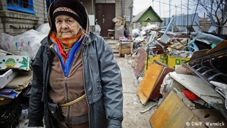 Ukrainian pensioner (Photo: Filip Warwick)