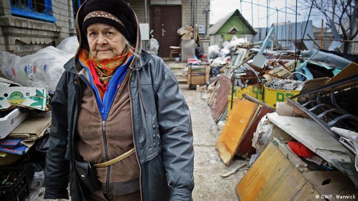 Ukrainian pensioner (Photo: Filip Warwick)