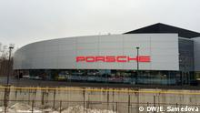 Russland Porsche-Autohaus in Moskau