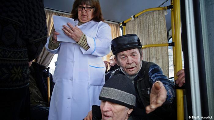 Psychiatric patients in Ukraine (Photo: Filip Warwick)