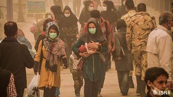 Bildergalerie Luftverschmutzung in Iran (ISNA)