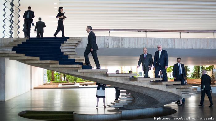 Steinmeier zu Besuch in Brasilien
