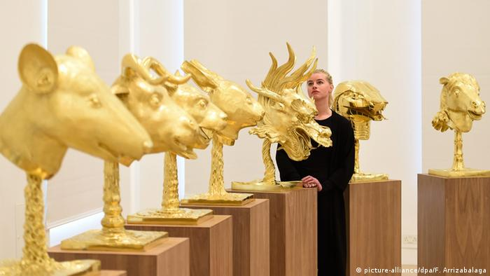 Ai Weiwei's zodiac heads exhibition in London