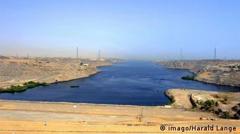 Assuan-Staudamm in Ägypten