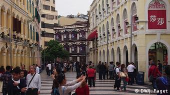Macau Glücksspielkrise Altstadt