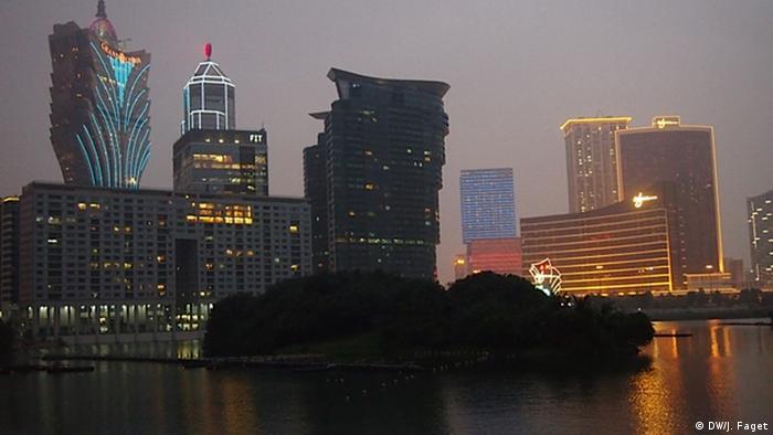 Macau Glücksspielkrise Skyline