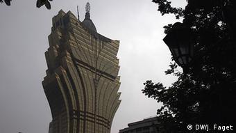 Macau Glücksspielkrise Grand Lisboa Casino