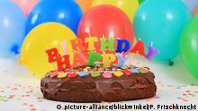 Symbolbild Geburtstagstorte