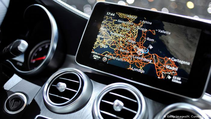 CarPlay-Bildschirm von Apple (Illustration: Getty Images)