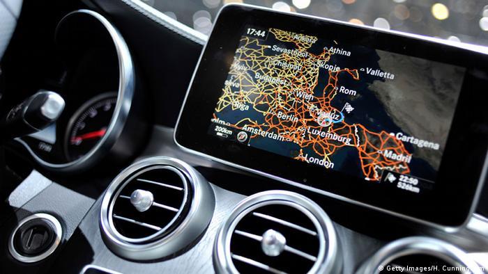 Apple CarPlay screen