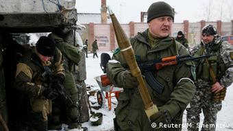 Ukraine Pro-russische Separatisten Russische Waffenlieferungen (Foto: REUTERS/Maxim Shemetov )