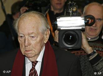 O acusado Ladislav Niznansky, pouco antes de receber a sentença