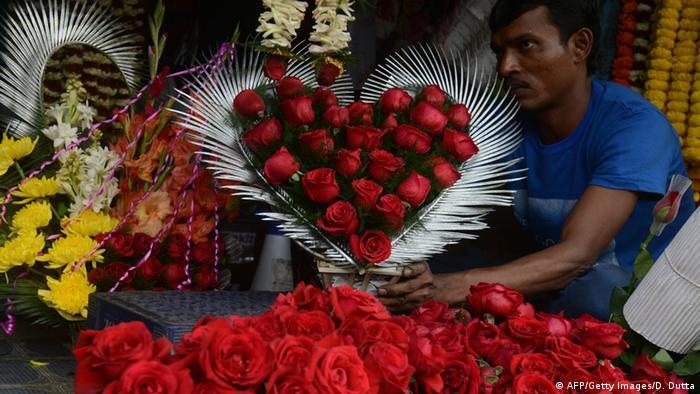 Indien Valentinstag (AFP/Getty Images/D. Dutta)