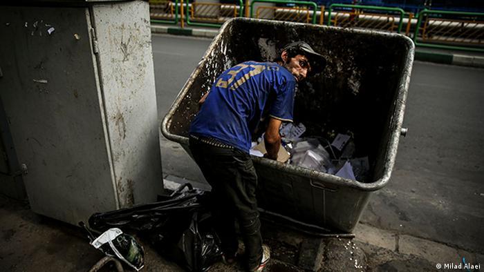 Obdachlose (Milad Alaei)