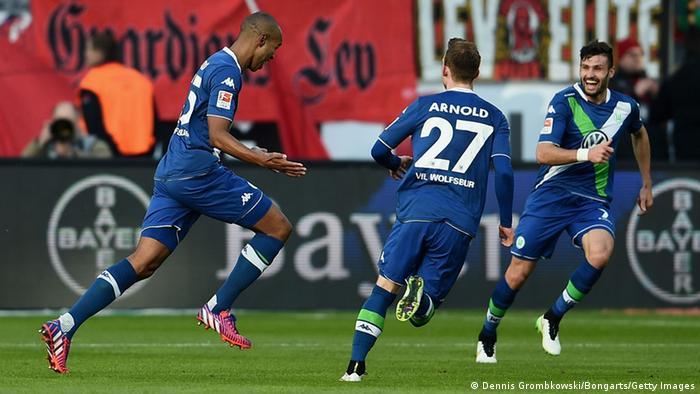 Fußball Bundesliga 21. Spieltag Bayer 04 Leverkusen vs. VfL Wolfsburg