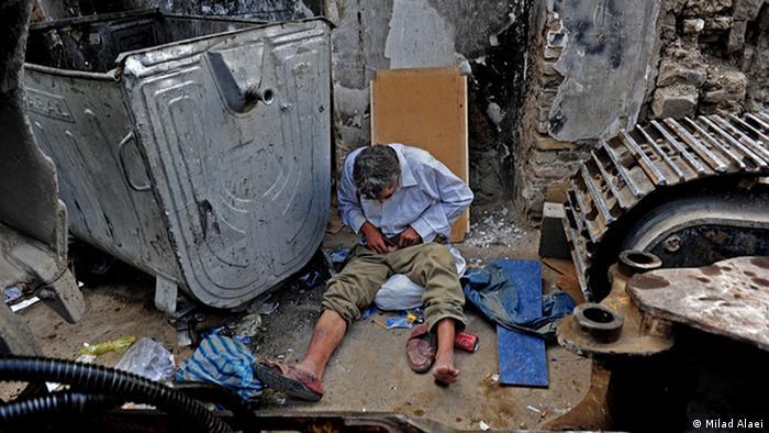 Bildergalerie Iran Drogenabhängiger